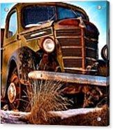 Vintage Farm Truck Acrylic Print