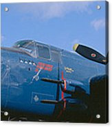 Vintage Fighter Aircraft, Burnet, Texas Acrylic Print