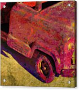 Vintage Firetruck Acrylic Print