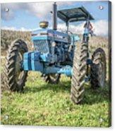 Vintage Ford 7610 Farm Tractor Acrylic Print