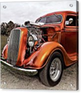 Vintage Ford Truck Rod Acrylic Print