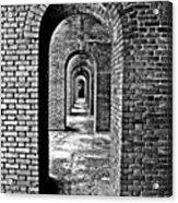 Vintage Fort Acrylic Print