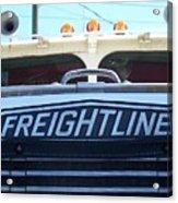 Vintage Freightliner  Acrylic Print