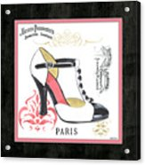 Vintage French Shoes 1 Acrylic Print