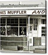 Vintage Gas Station Acrylic Print