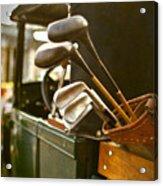Vintage Golf Set Acrylic Print
