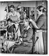 Vintage Hair Dresser Acrylic Print