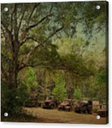 Vintage Harvey Trucks In Northwest Florida Acrylic Print