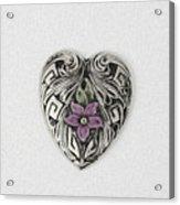 Vintage Heart Acrylic Print