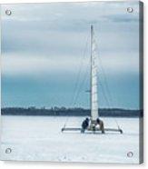 Vintage Ice Boat Acrylic Print
