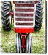 Vintage International Harvester Tractor Acrylic Print