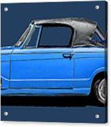 Vintage Italian Automobile Tee Acrylic Print