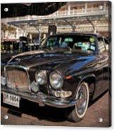 Vintage Jaguar Acrylic Print