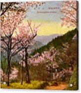 Vintage Japanese Art 14 Acrylic Print