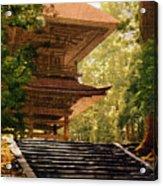 Vintage Japanese Art 16 Acrylic Print