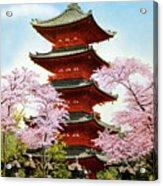 Vintage Japanese Art 21 Acrylic Print