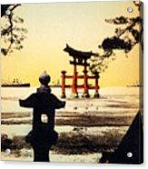 Vintage Japanese Art 23 Acrylic Print
