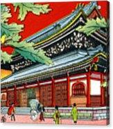 Vintage Japanese Art 4 Acrylic Print
