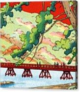 Vintage Japanese Art 6 Acrylic Print
