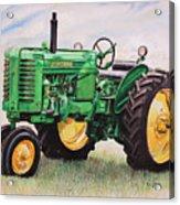Vintage John Deere Tractor Acrylic Print