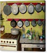 Vintage Kitchen Acrylic Print
