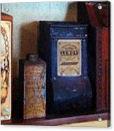 Vintage Kitchen Magick Acrylic Print