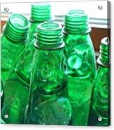 Vintage Lemonade Glass Bottles Acrylic Print