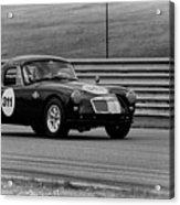 Vintage Mg On Track Acrylic Print
