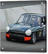 Vintage Mg Race Car Acrylic Print