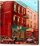 Vintage Montreal Acrylic Print