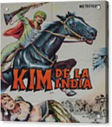 Vintage Movie Poster 4 Acrylic Print