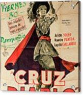 Vintage Movie Poster 7 Acrylic Print