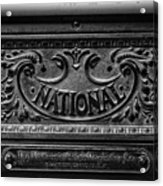 Vintage National Cash Register Acrylic Print