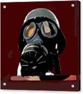 Vintage Nazi Gas Mask Barry Sadler Collection Tucson Arizona 1971-2016 Acrylic Print
