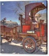 Vintage Packard Truck Acrylic Print