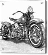 Vintage Panhead Acrylic Print