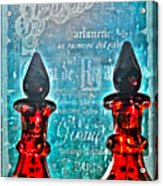Vintage Paris Perfume Acrylic Print