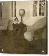 Vintage Photograph Farmhouse Interior Acrylic Print