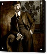 Vintage Photograph Of Vincent Van Gogh - Taken 13 Years After His Death Acrylic Print