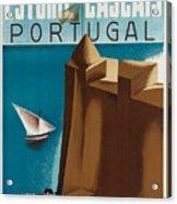 Vintage Portugal Travel Poster Acrylic Print