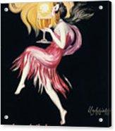 Vintage Poster Cognac Monnet, 1927 Acrylic Print