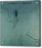 Vintage Poster - Saison Russe Acrylic Print