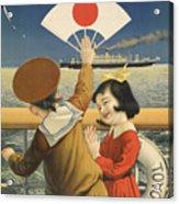 Vintage Poster - Toyo Kisen Kaisha Acrylic Print