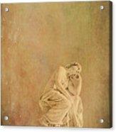 Vintage Reflecting Woman 1 - Artistic Acrylic Print