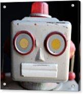 Vintage Robot 1 Dt Acrylic Print