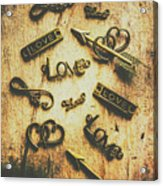 Vintage Romance Acrylic Print