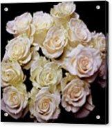 Vintage Roses Bouquet Acrylic Print