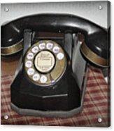 Vintage Rotary Phone Acrylic Print