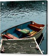 Vintage Rowboat Acrylic Print