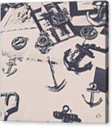 Vintage Sailing Art Acrylic Print